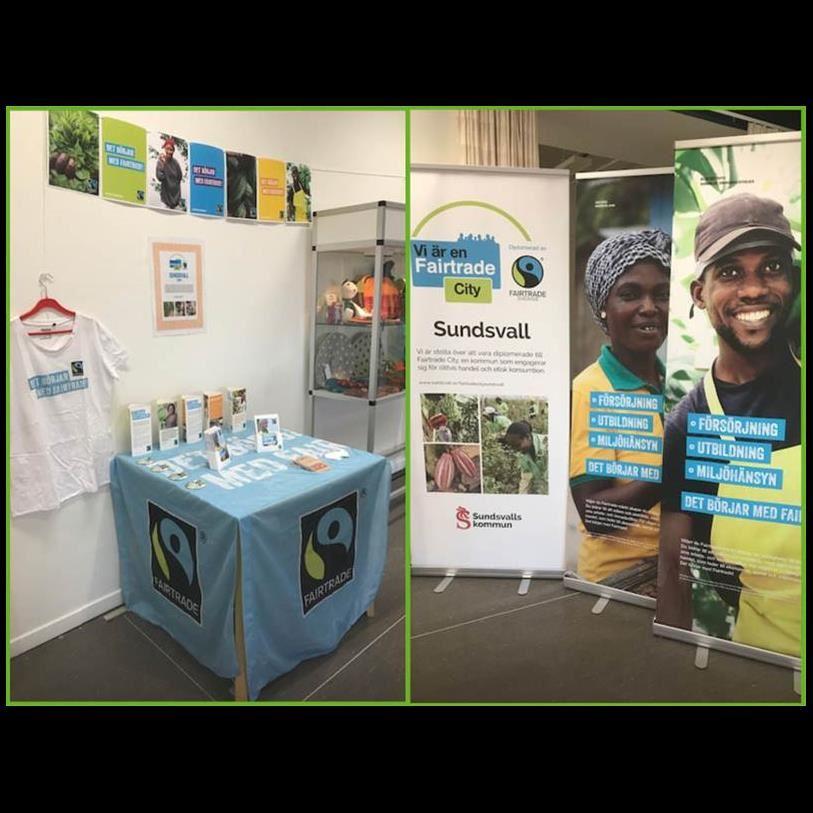 Utställning om Fairtrade
