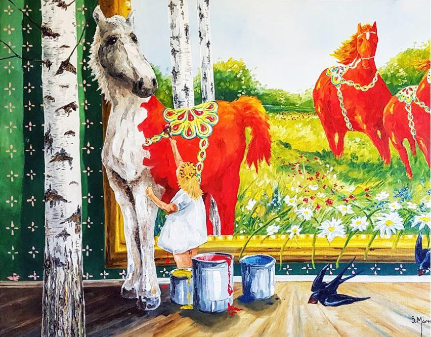 Utställning - Måleri och Drivvedskonst
