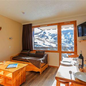 Cuzco J13 > Studio + Cabin - 4 Persons - 2 Silver Snowflakes (Ma Clé IMMO)