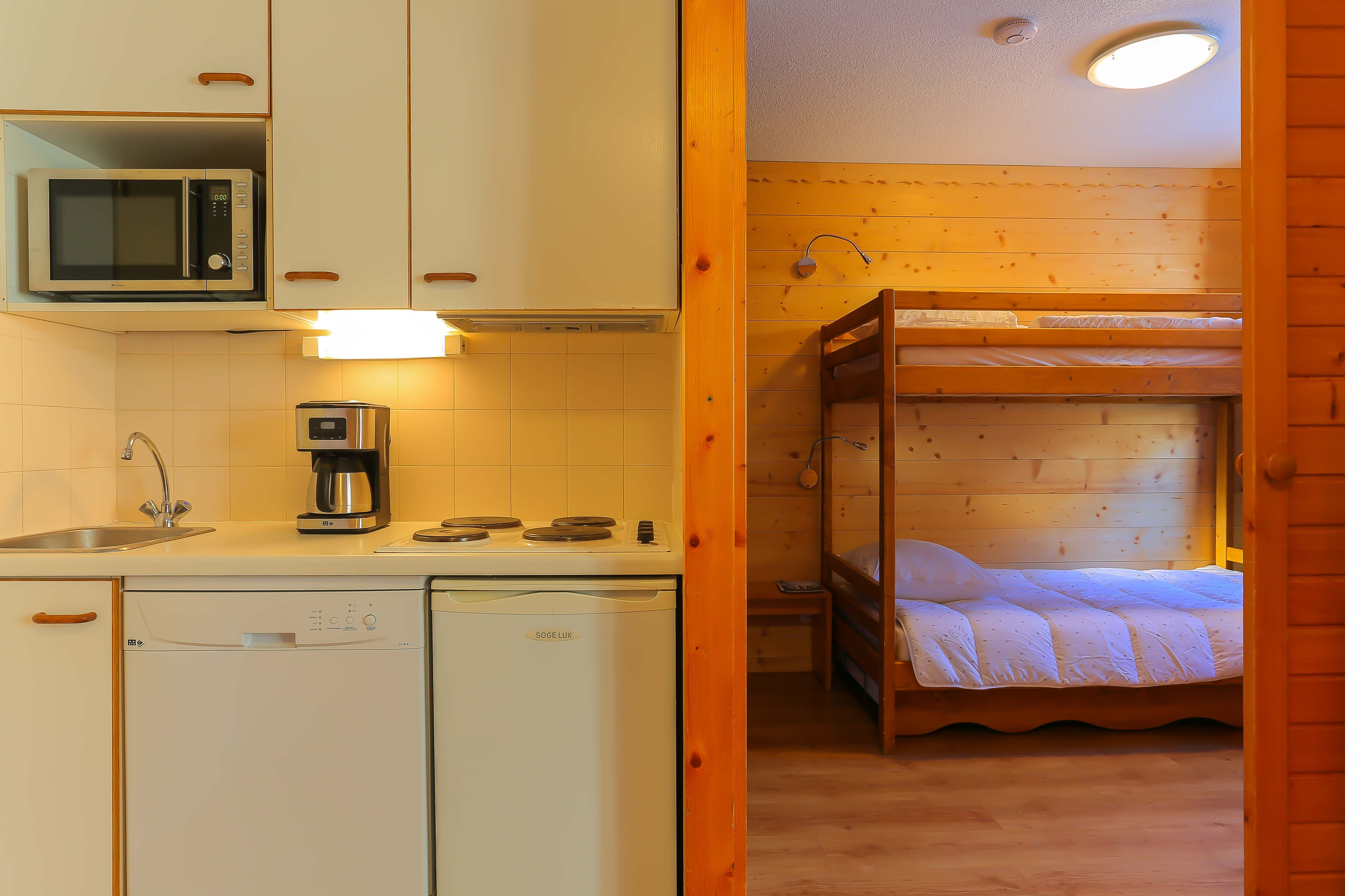 Reine Blanche 001 > Appartement 2 Pièces - 5 Personnes - 2 Flocons Bronze (Ma Clé IMMO)