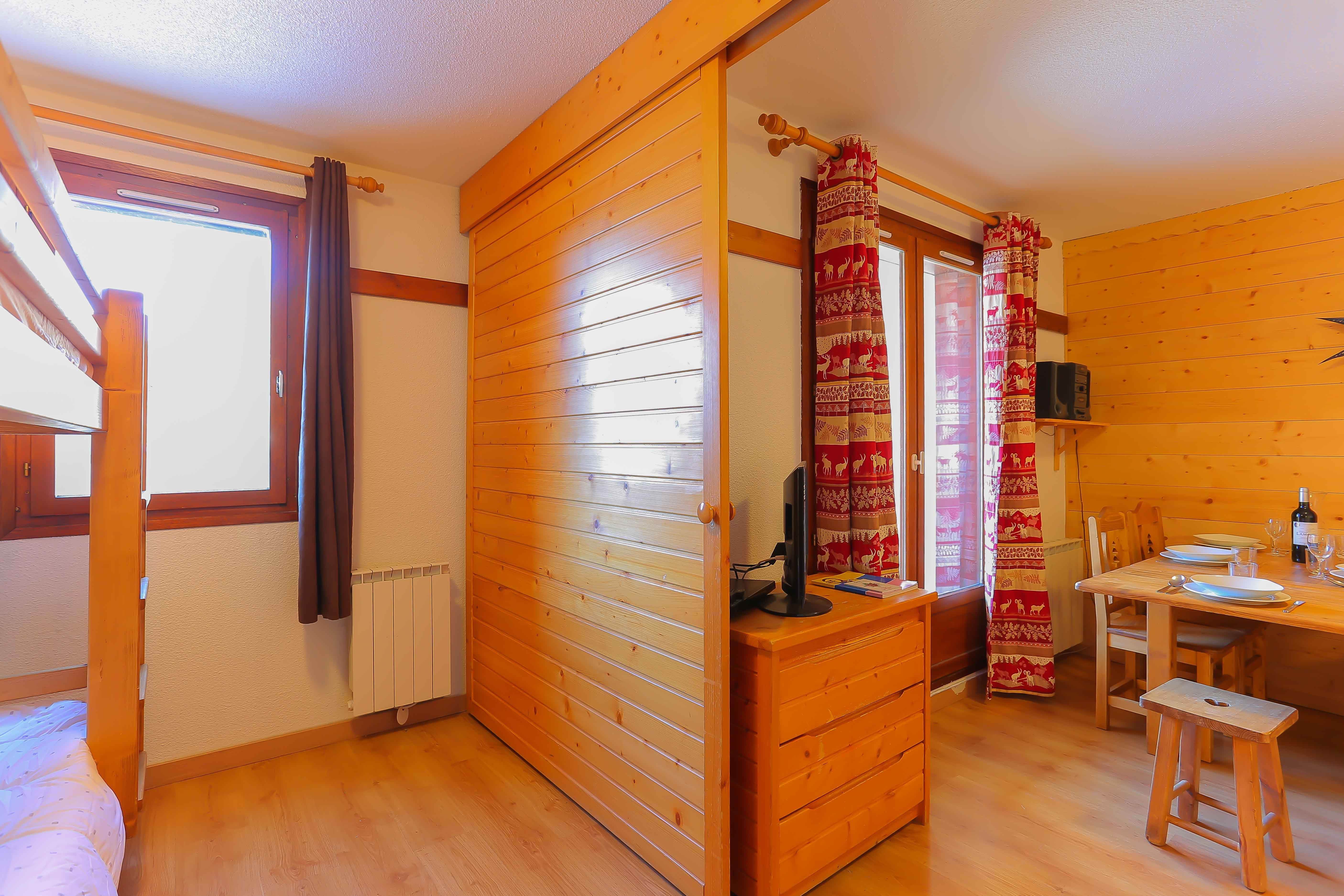 Reine Blanche 001 > Apartment 2 bedrooms - 5 People - 2 Bronze Snowflakes (Ma Clé IMMO)