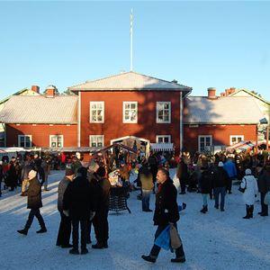Julmarknad på Stenegård