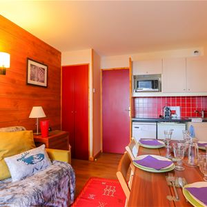 Pichu 413 > Apartment with bedroom - 5 Persons - 2 Silver Snowflakes - (Ma Clé IMMO)