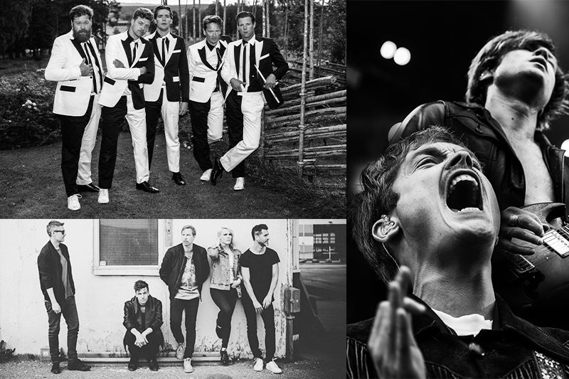 Dalhalla - The Hives, Mando Diao och The Sounds