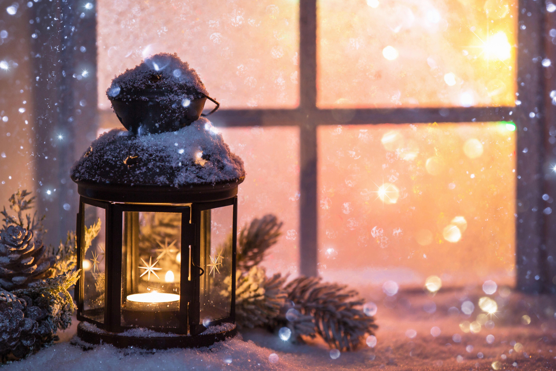 Julmys på naturum Ånge