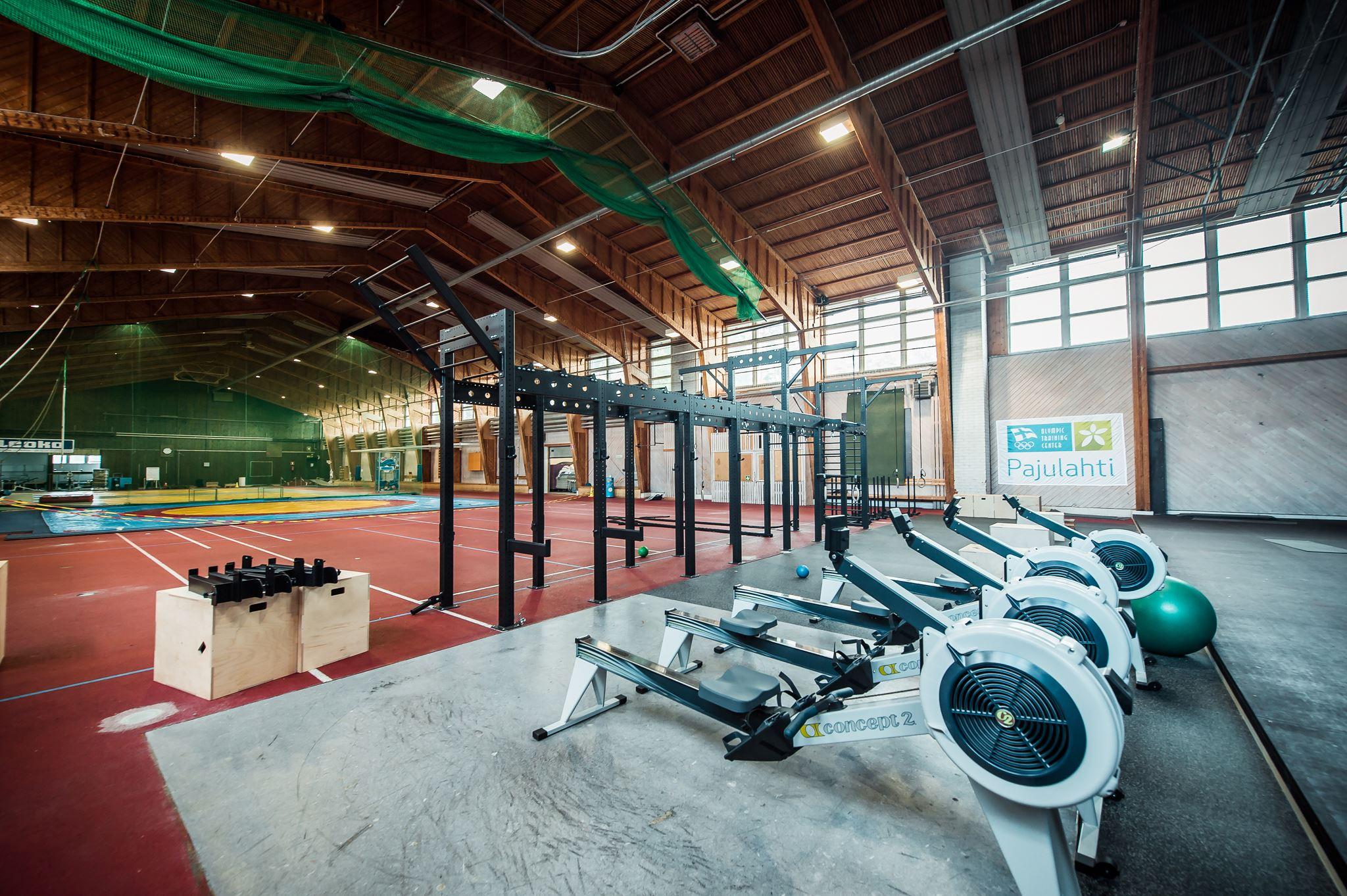 Cross training -viikonloppu Liikuntakeskus Pajulahdessa 15.-17.2.2019