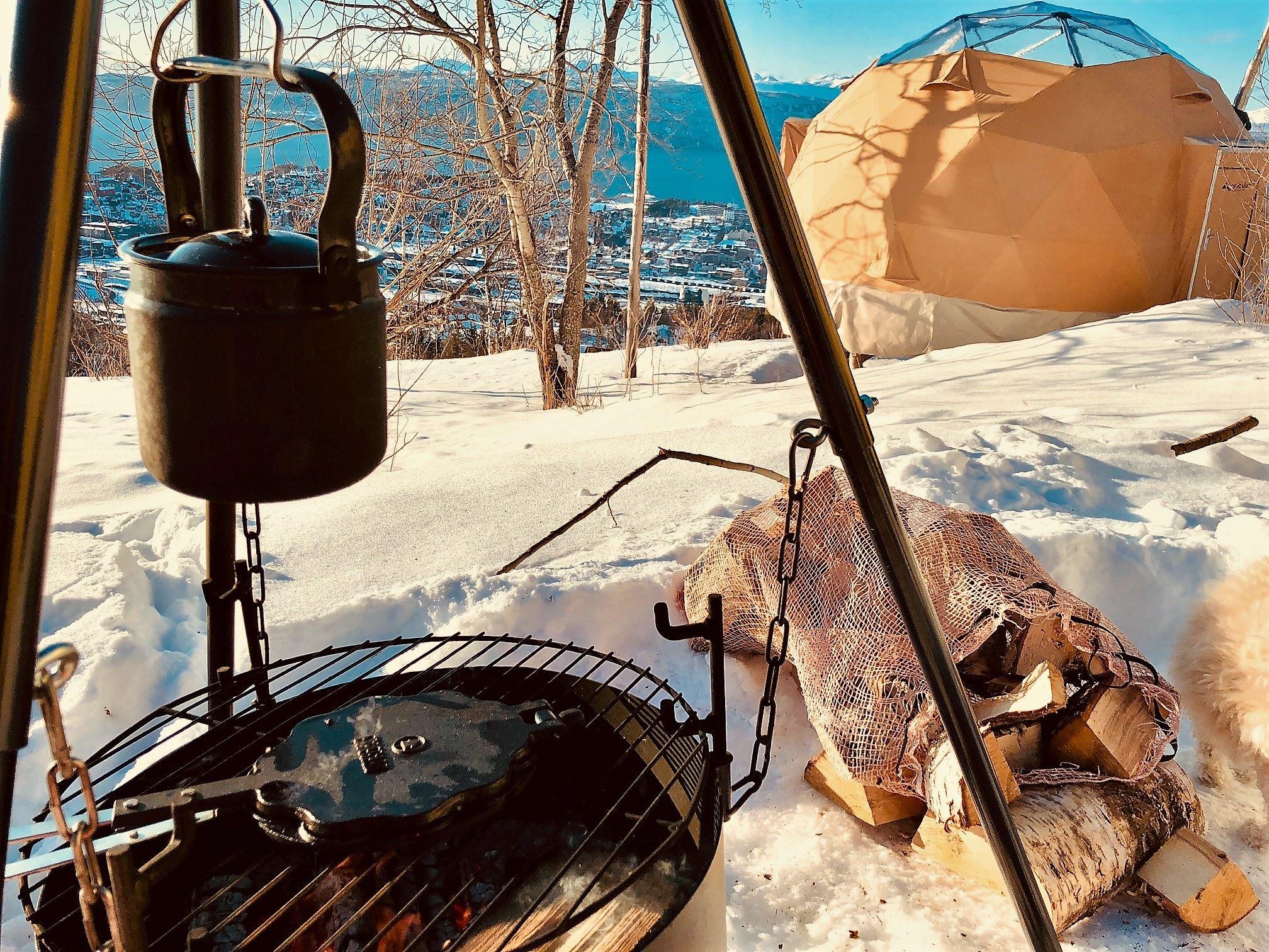 Fun, food an photo hos Narvik Adventures