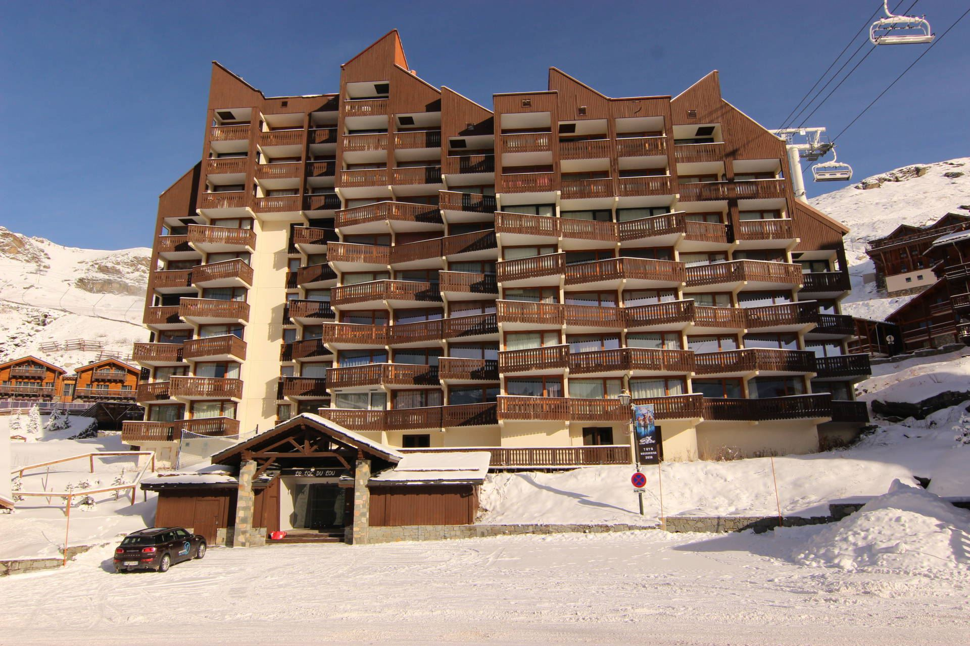 LAC DU LOU 101 / APARTMENT 2 ROOMS 5 PERSONS - 1 BRONZE SNOWFLAKE - VTI