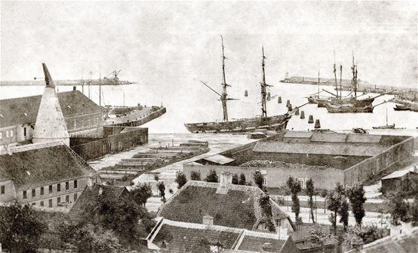 Samuel Moses Marcus, Ystads hamn slutet av 1800-talet