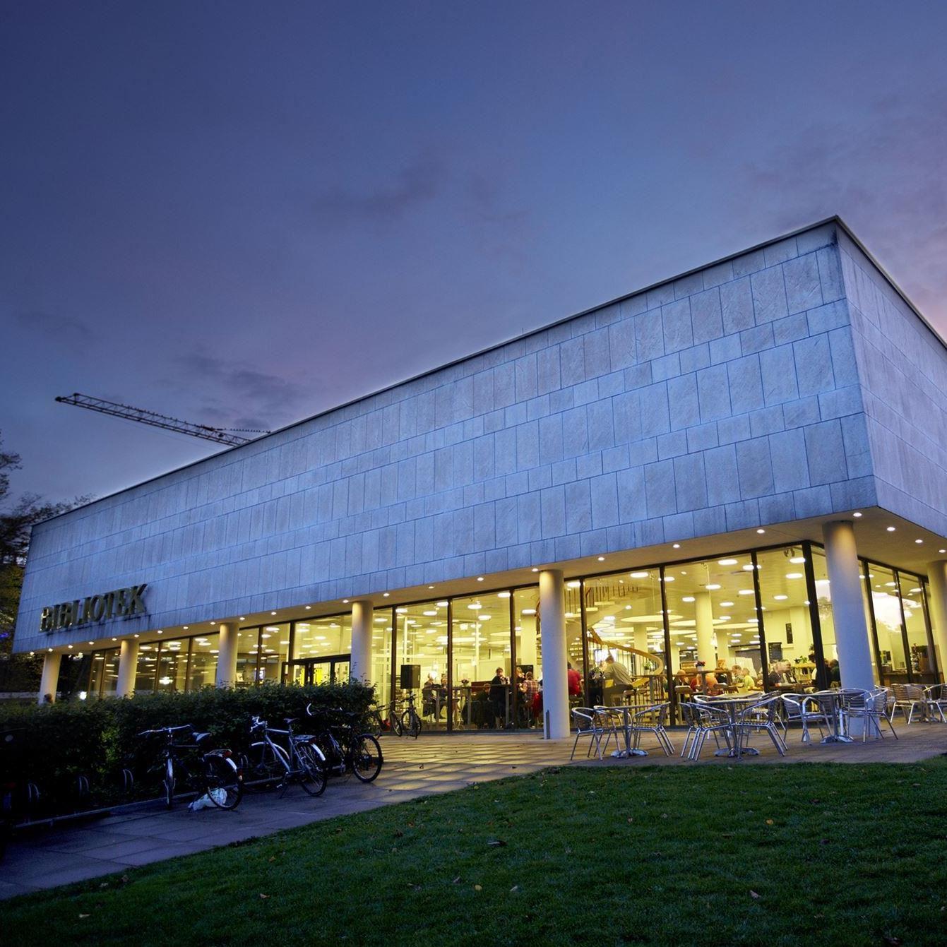 Kulturnatten på stadsbiblioteket