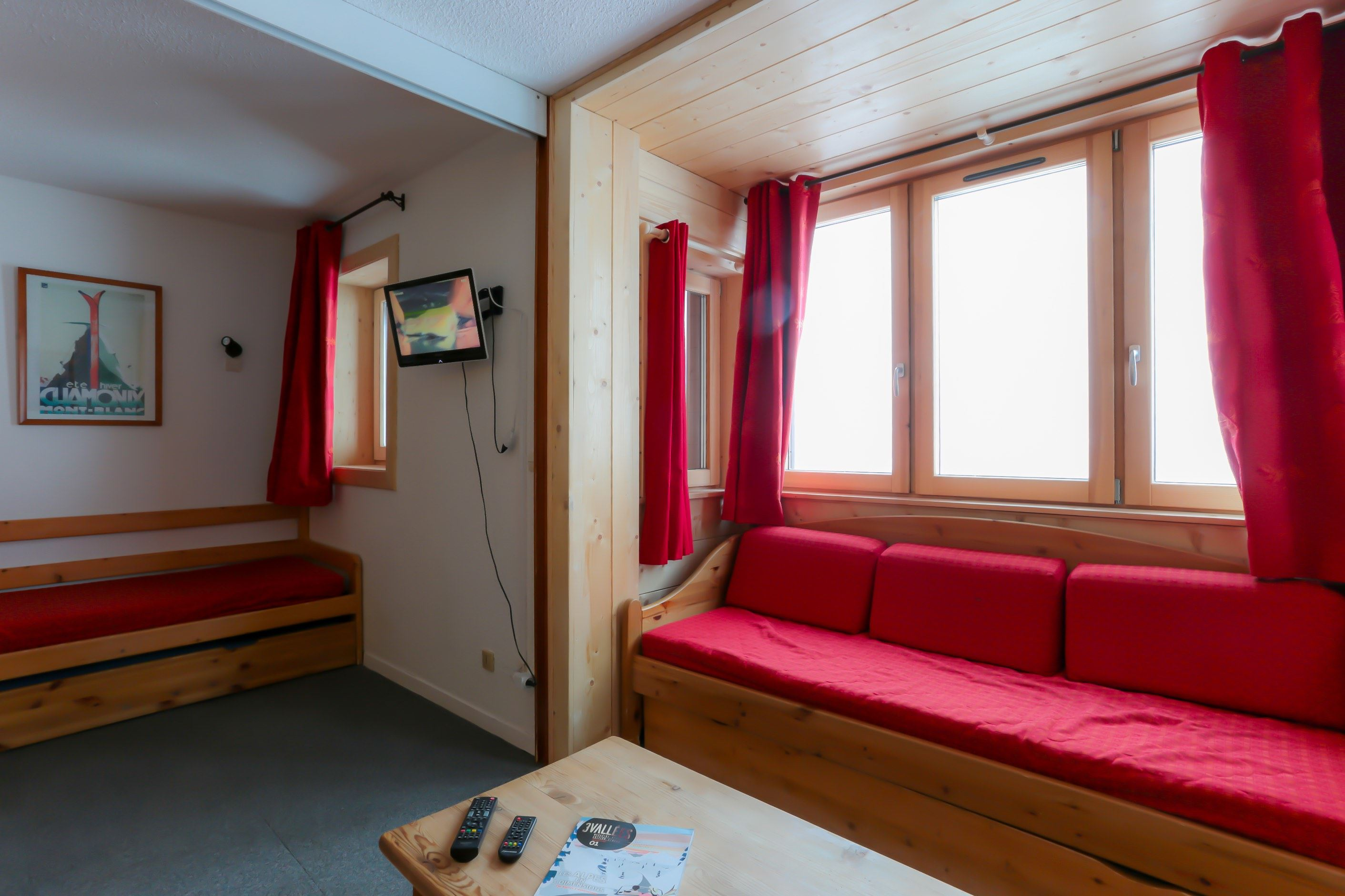 Arcelle 502 > 2 Rooms + Cabin - 4 Persons - 2 Bronze Snowflakes (Ma Clé IMMO)