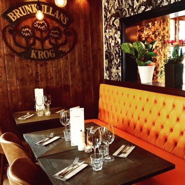 Foto: Brunkullan Brasserie,  © Copy: Brunkullan Brasserie, Dukade bord