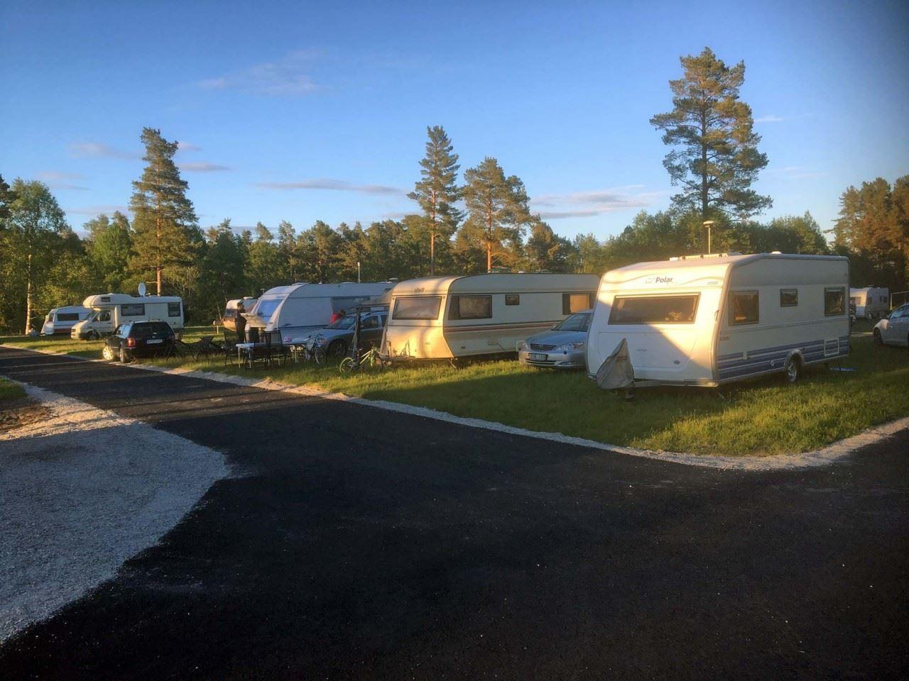 Sörfjärden Camping Hälsingland havsbad havsnära kustnära