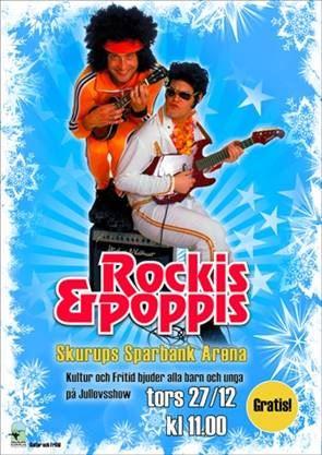 Jullovsshow med Rockis och Poppis