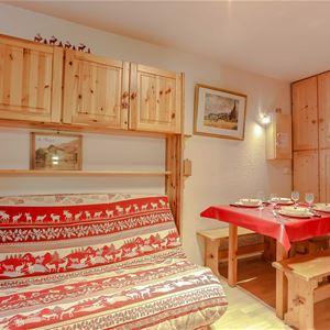 Cimes de Caron 1205 > Studio + Cabin - 4 People - 2 Bronze Snowflakes (Ma Clé IMMO)