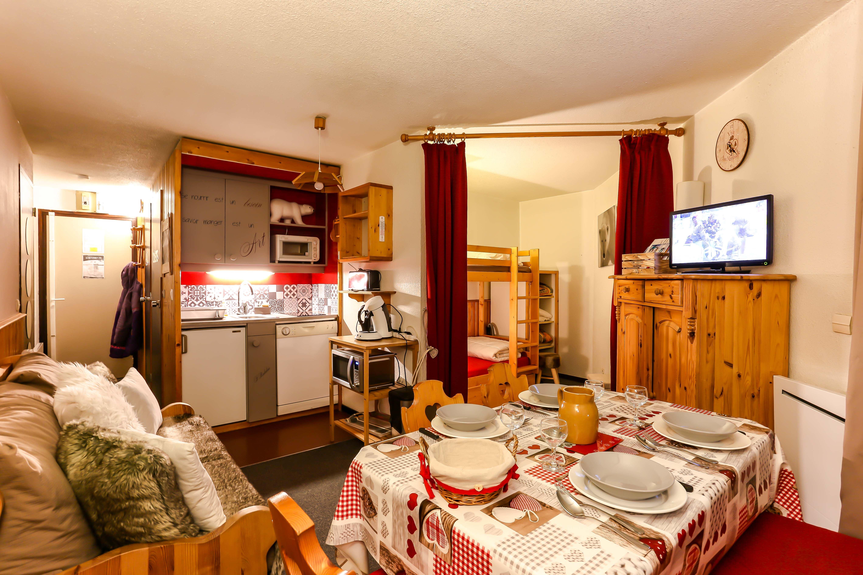Arcelle 101 > Studio + 2 cabins - 4 Persons - 1 Bronze Snowflake (Ma Clé IMMO)