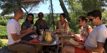 Market and winemaker's lunch with Montpellier Wine Tours