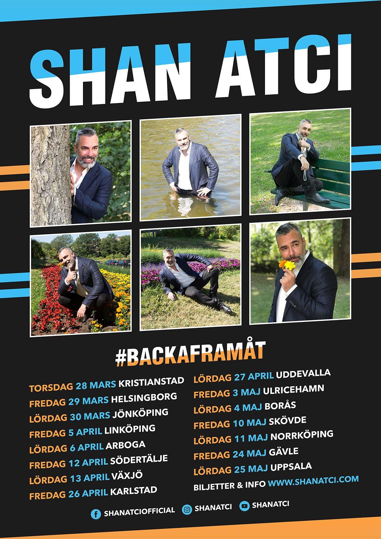 Shan Atci – #backaframåt