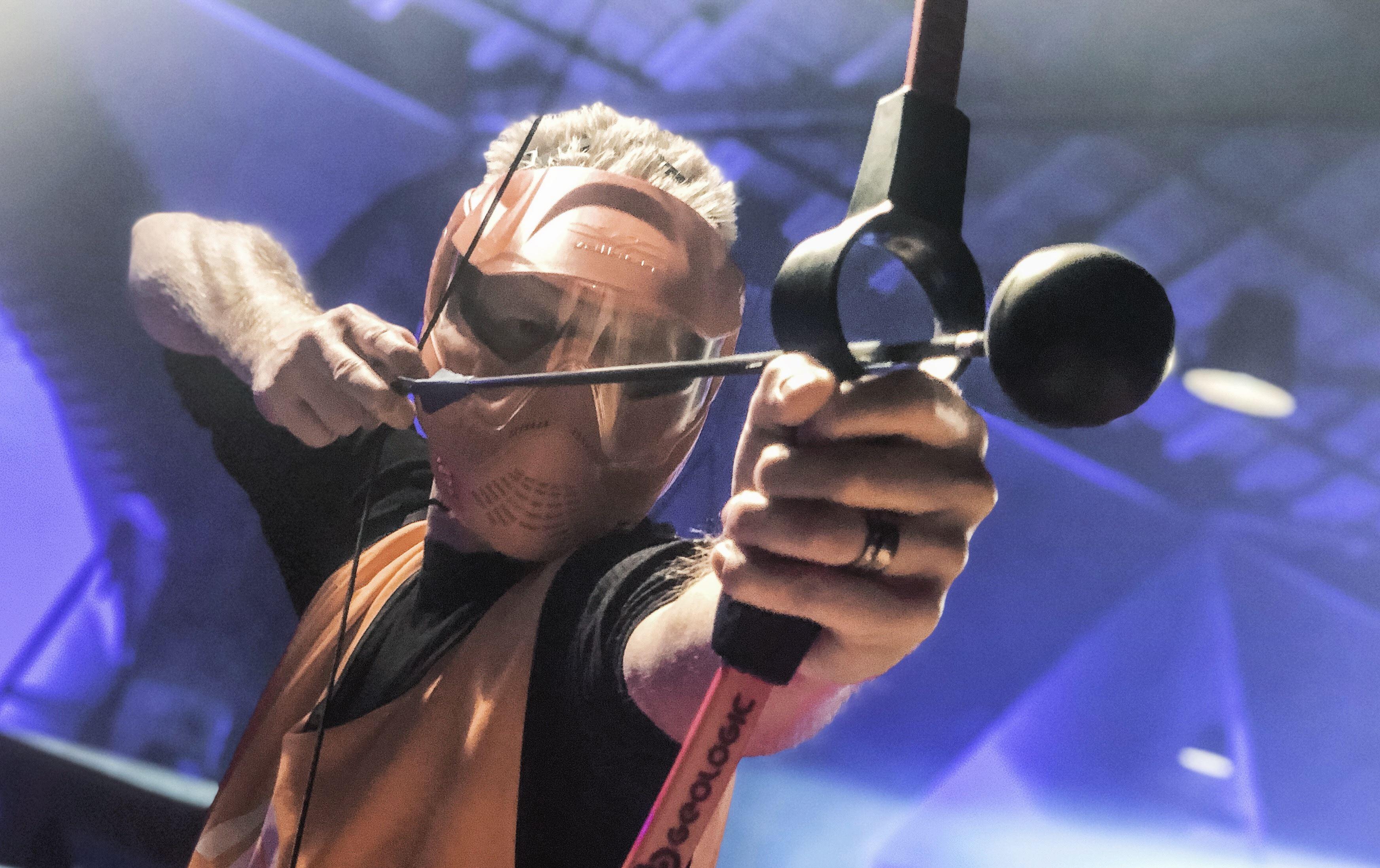 Archery Tag på Gasklockorna i Gävle