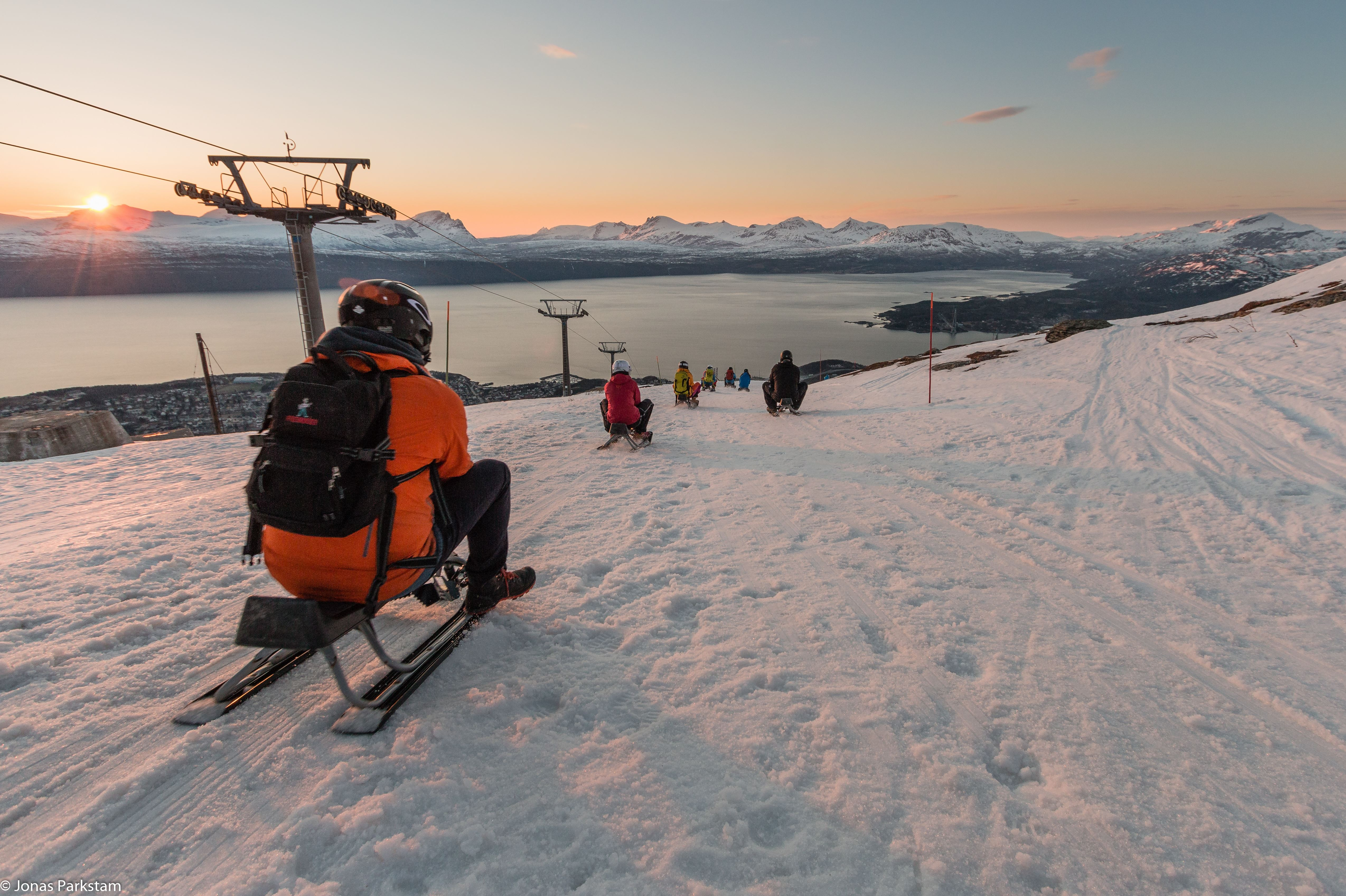 Aking i Narvikfjellet