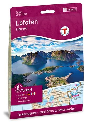 Turkart Lofoten 1:100 000 (2016)