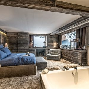 4 rooms 6 people ski-in ski-out / DIAMANT DE BELLECOTE (Mountain of Dream)