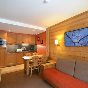 2 rooms, 5 people / Chalet du Forum A109 / Tranquillity Booking
