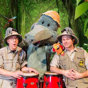 Barnteater- Arne Alligator & djungeltrumman