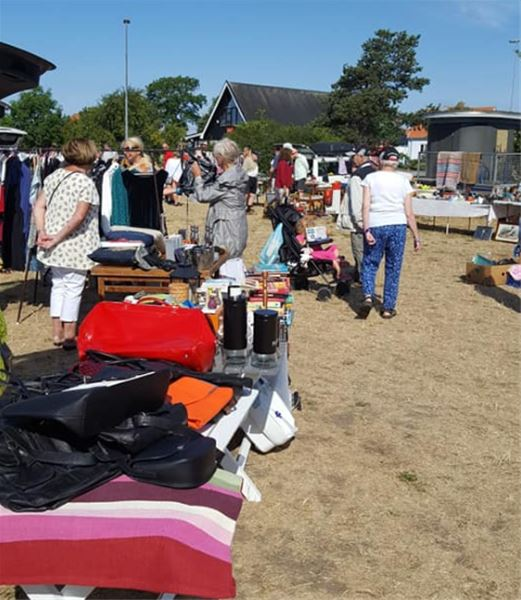Car boot sale, Smygehuk