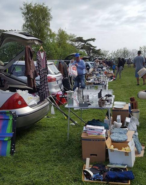 Car boot sale, Smygehuk