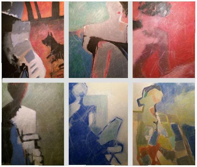 Konstutställning: Mix med nya målningar av Bo Torgé