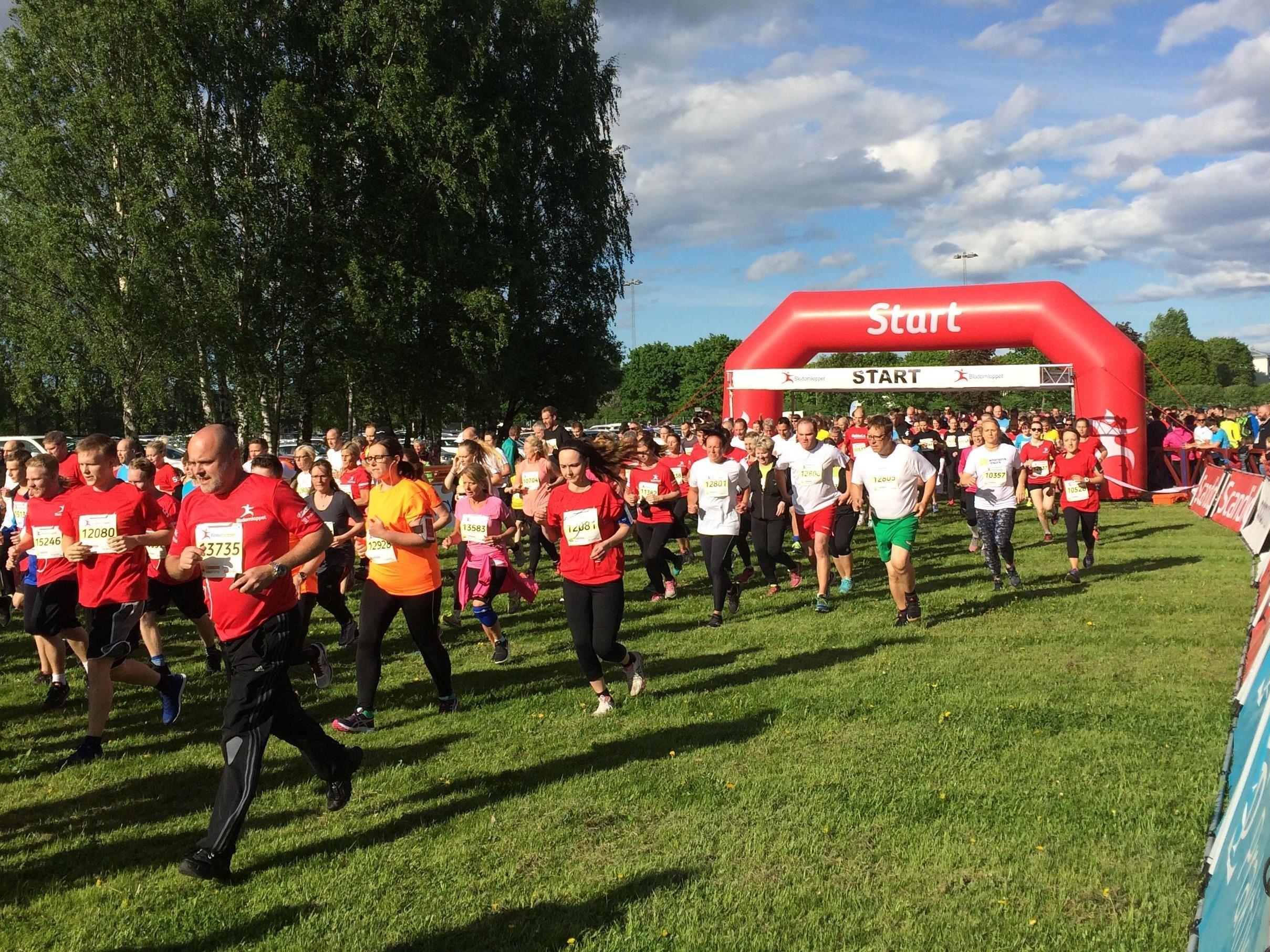 Blodomloppet Borlänge