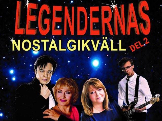 Konsert: Legendernas nostalgikväll del 2