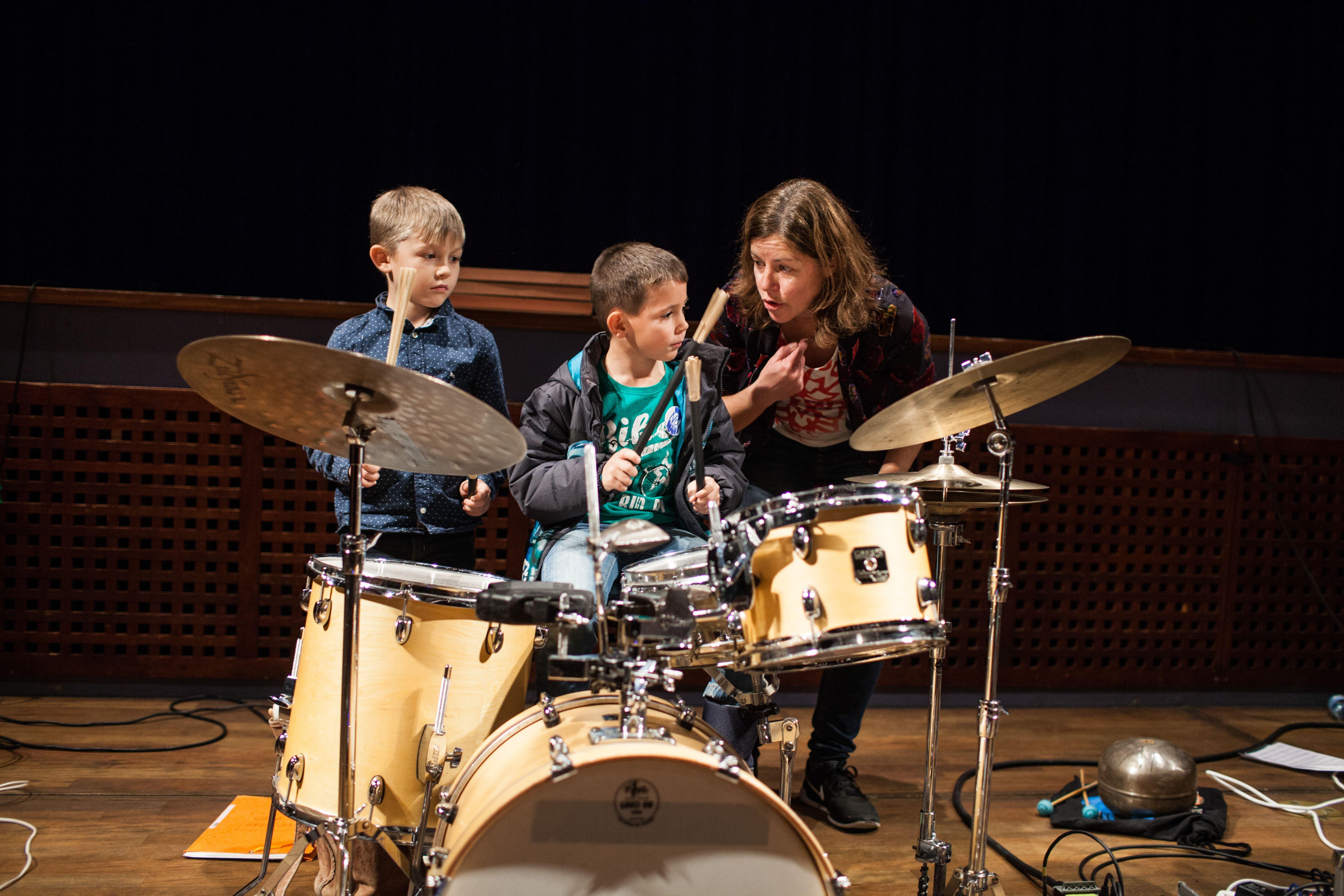 Familiekoncert med DrumDrum på Kulturfabrikken