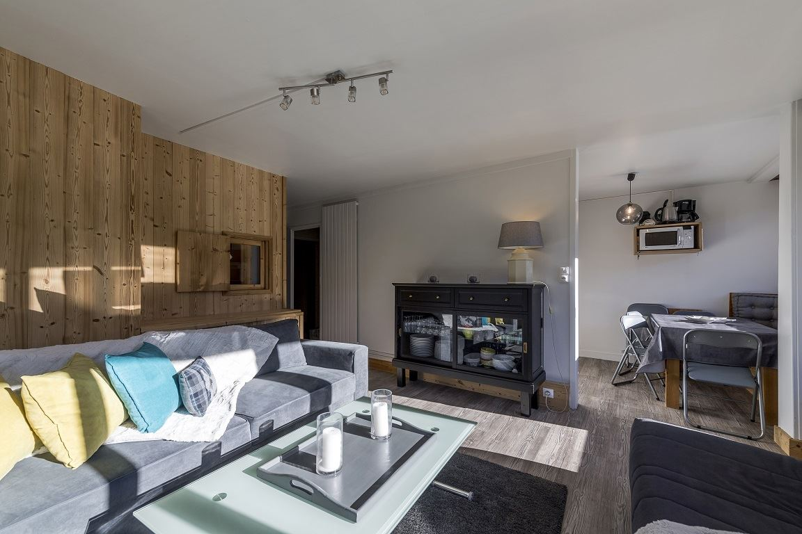 2 rooms 4 to 6 people (Ski in Ski out) / ARIONDAZ B123