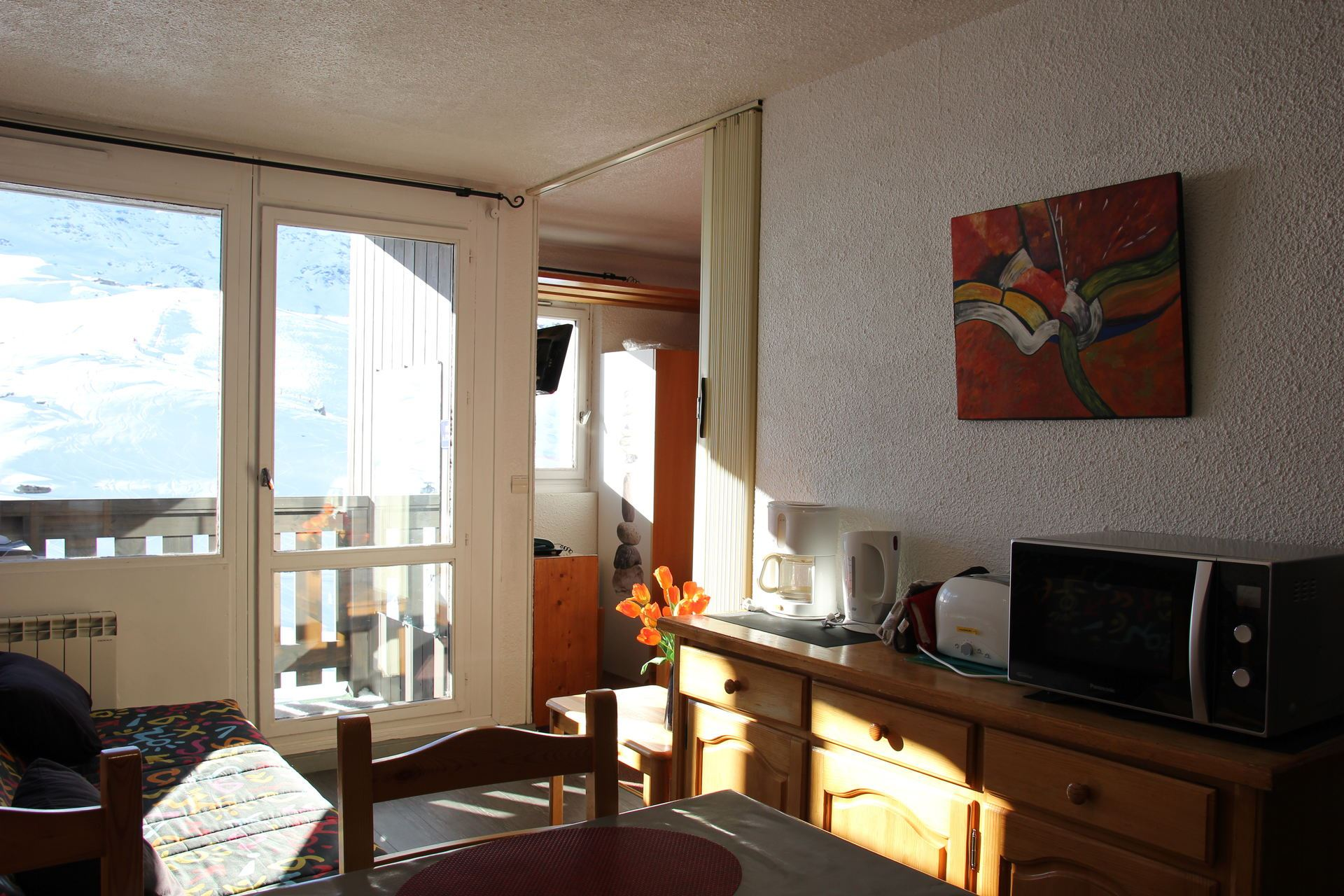 LAUZIERES 606 / APARTMENT 2 ROOMS CABIN 4 PERSONS - 2 SILVER SNOWFLAKES – CI