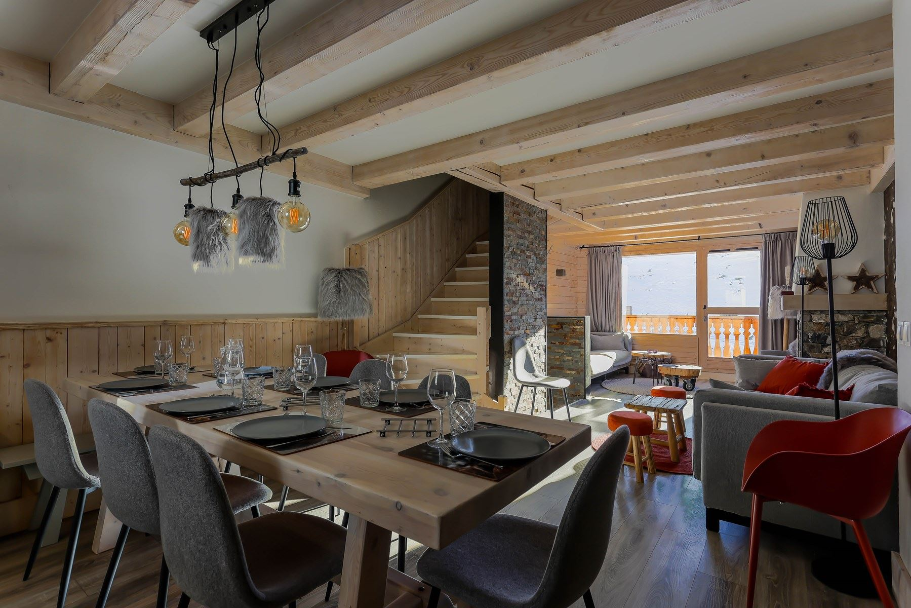 SELAOU 35 / APARTMENT CHALET 6 ROOMS 10 PERSONS - 4 SILVER SNOWFLAKES - ADA