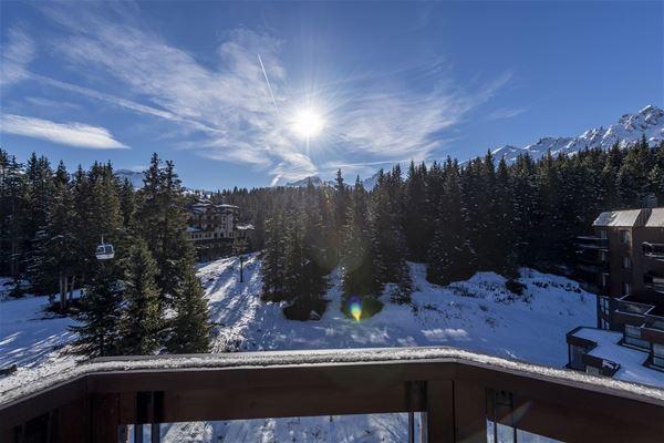 4 pièces 6 personnes skis aux pieds / DOMAINE DU JARDIN ALPIN 401B
