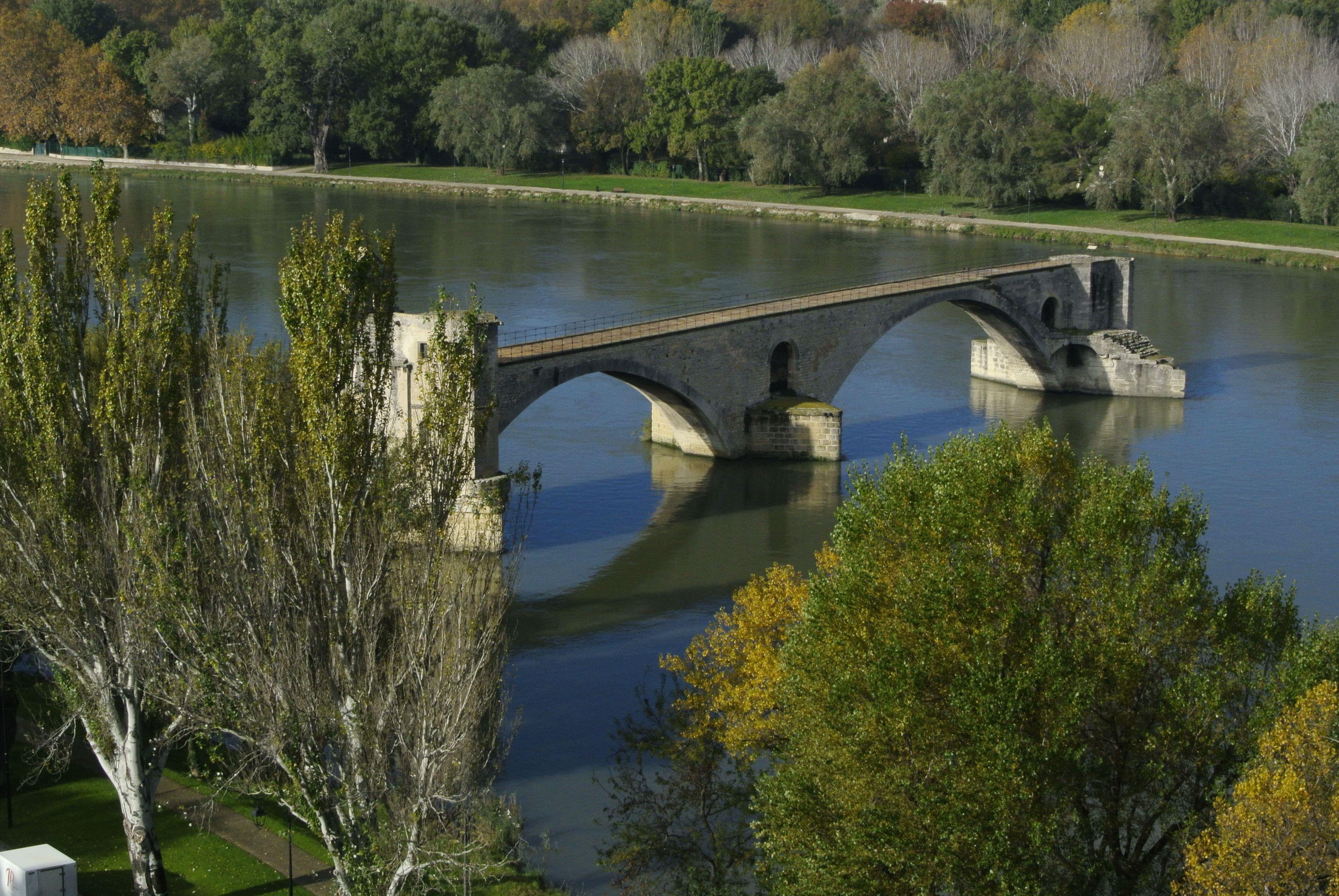 Visite du Pont d'Avignon