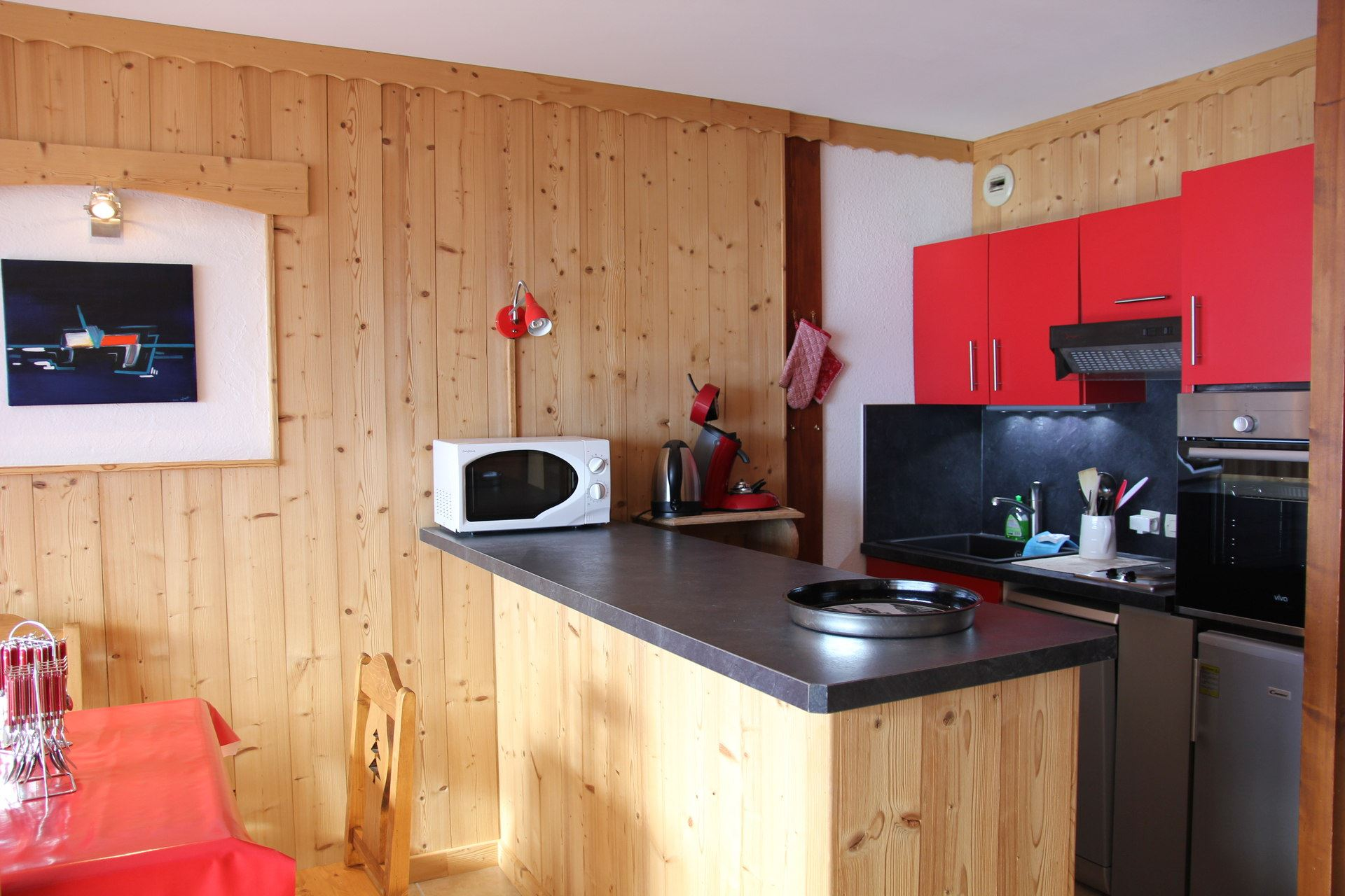 BEAU SOLEIL 2 / APPARTEMENT 2 PIECES CABINE 6 PERSONNES - 2 FLOCONS OR - CI