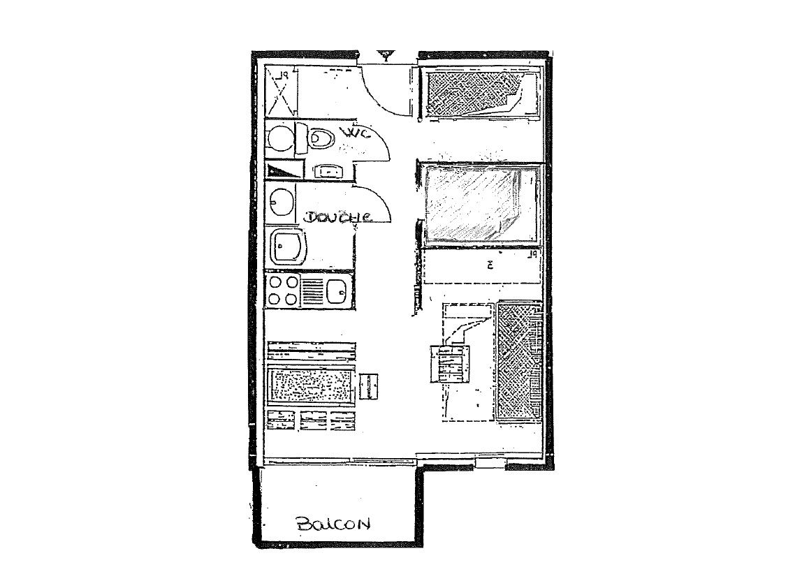 ORSIERE 42 / APPARTEMENT 2 PIECES 4 PERSONNES - 3 FLOCONS OR - CI