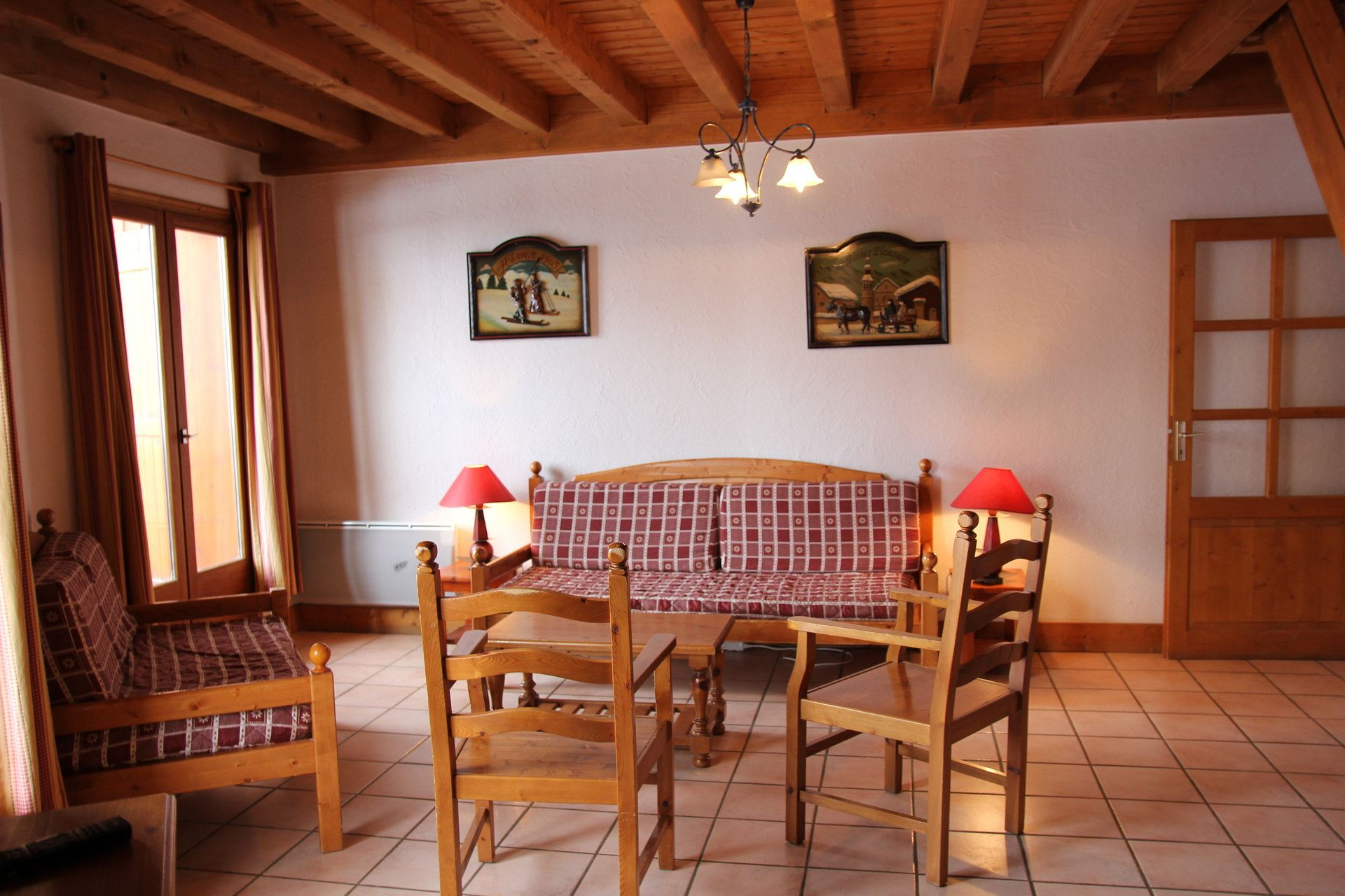 CHALET LES TROLLES 2 / APARTMENT 2 ROOMS CABIN 6 PERSONS - 3 SILVER SNOWFLAKES - CI