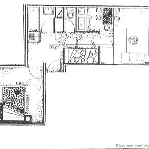 LAC DU LOU 207 / APPARTEMENT 2 PIECES 6 PERSONNES - CI