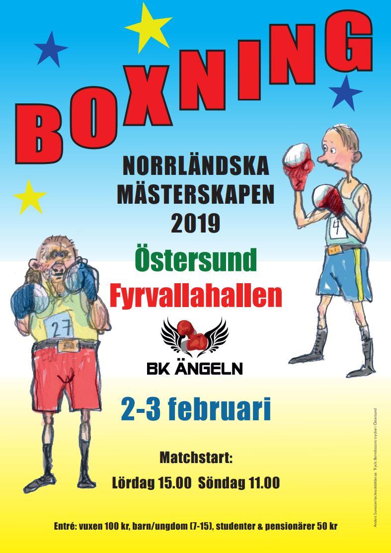 Boxning - Norrländska mästerskapen 2019