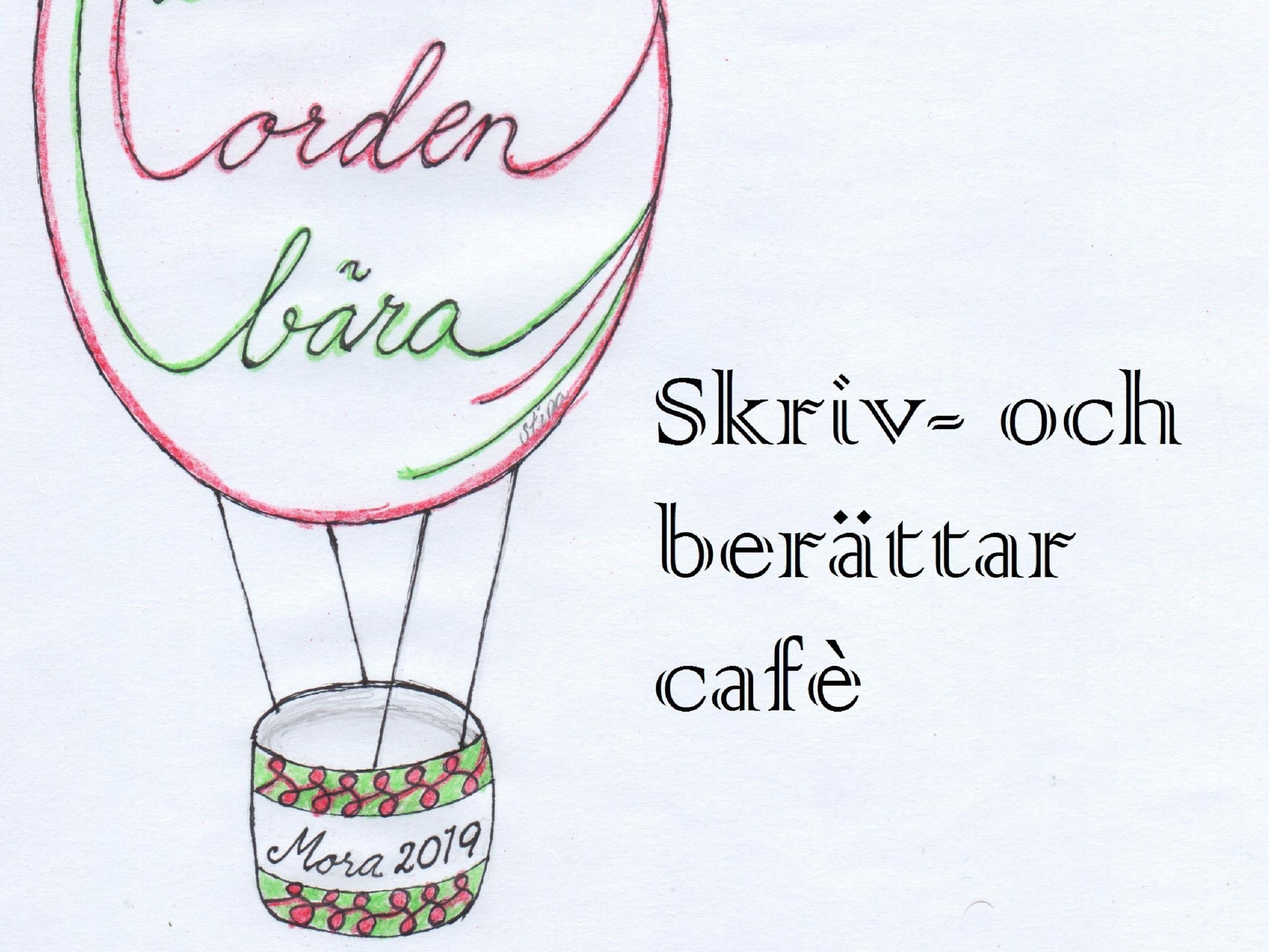 Skriv - och berättarcafé med Christina Börjesson