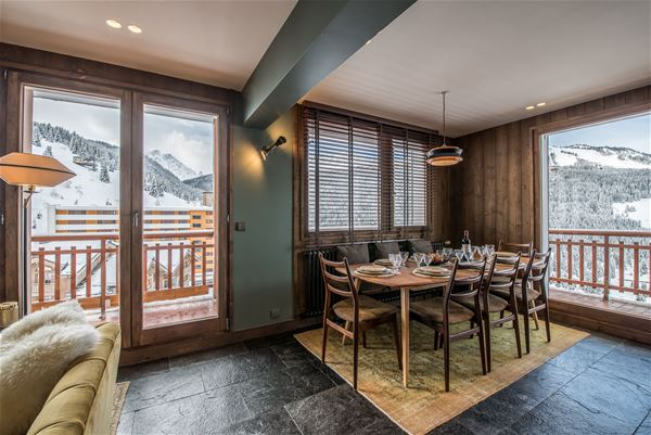 5 rooms 8 people ski in ski out / COSY 60'S