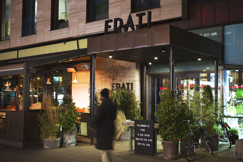© Frat, Bilde av inngangspartiet på restauranten Frati