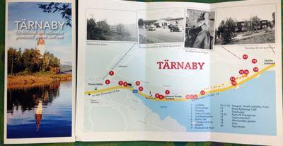 Local history walk in Tärnaby