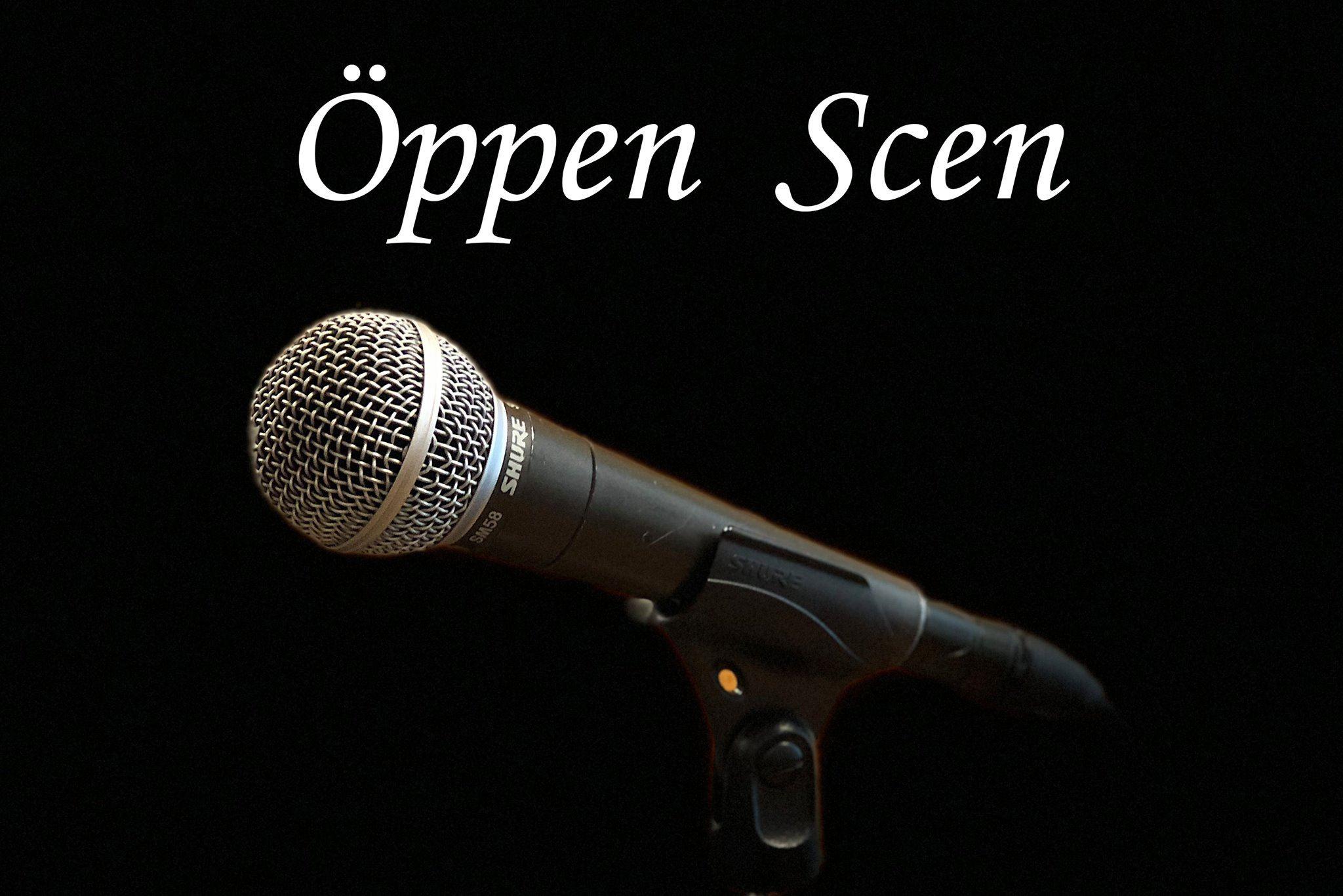 Öppen scen