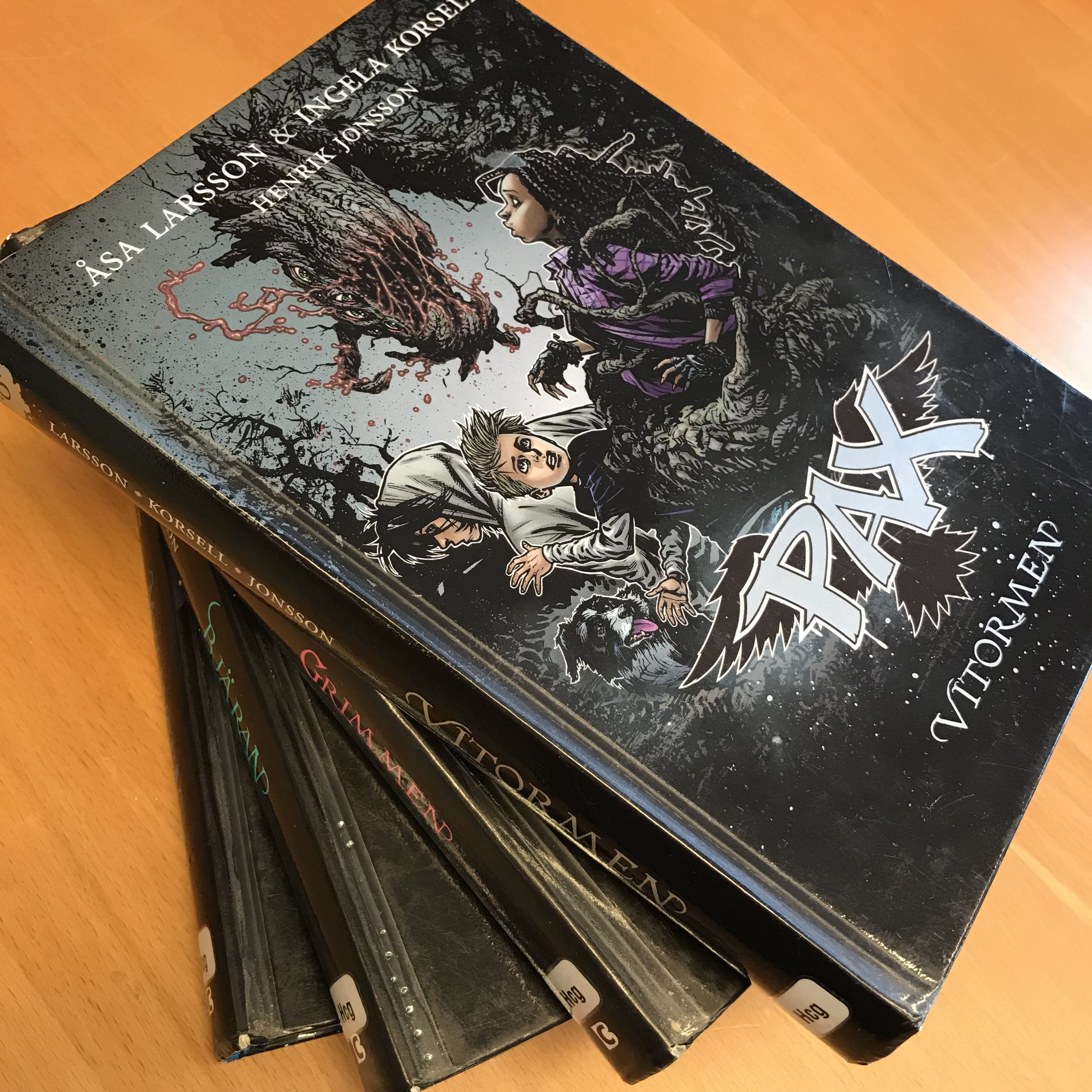 PAX-frossa på Hölö bibliotek